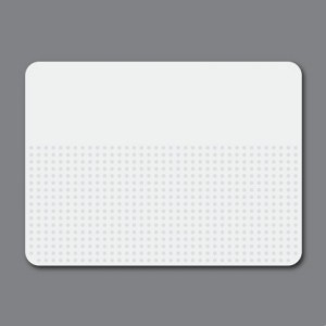 White Touchpad Decal - Symbols
