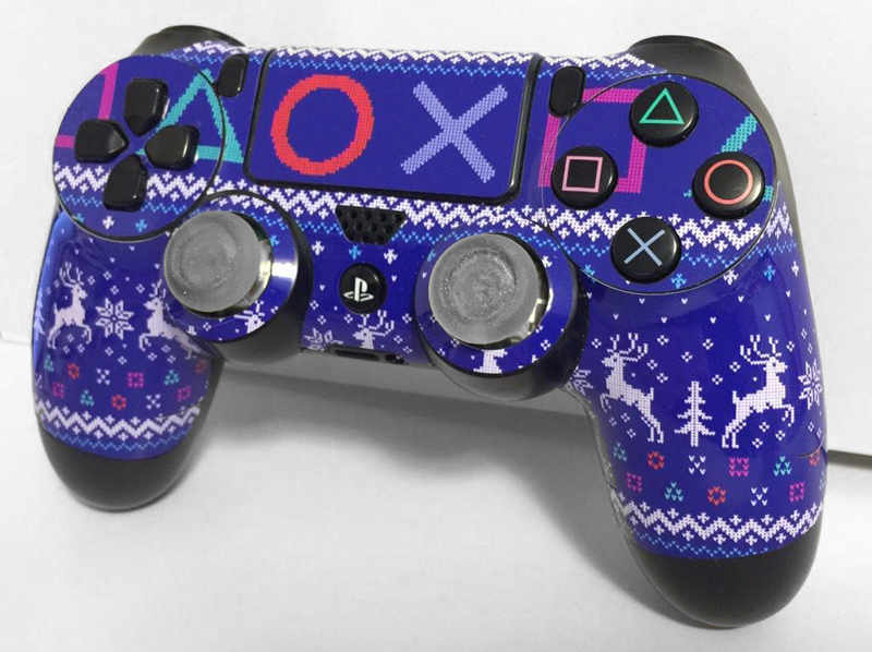 Ds4 Controller Skin Holiday Greatness Flamingtoast