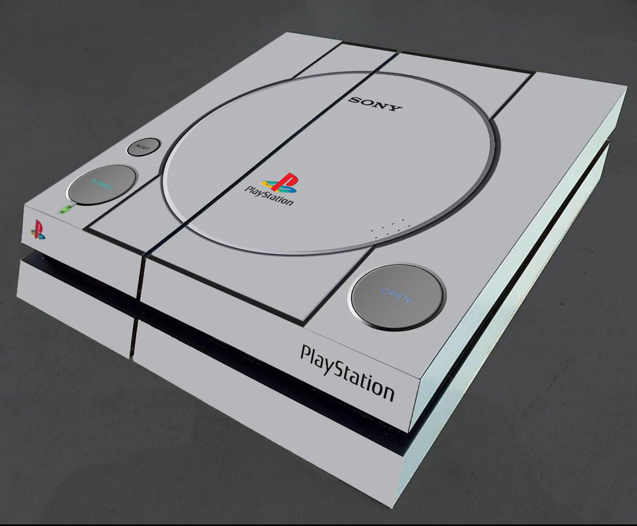 Ps4 Console Skin Play1 Flamingtoast Custom Dualshock