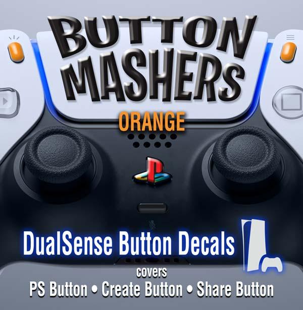 Button Mashers – DualSense Buttons – Orange