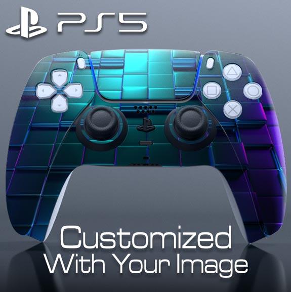 Custom DualSense Controller Skin – Plus