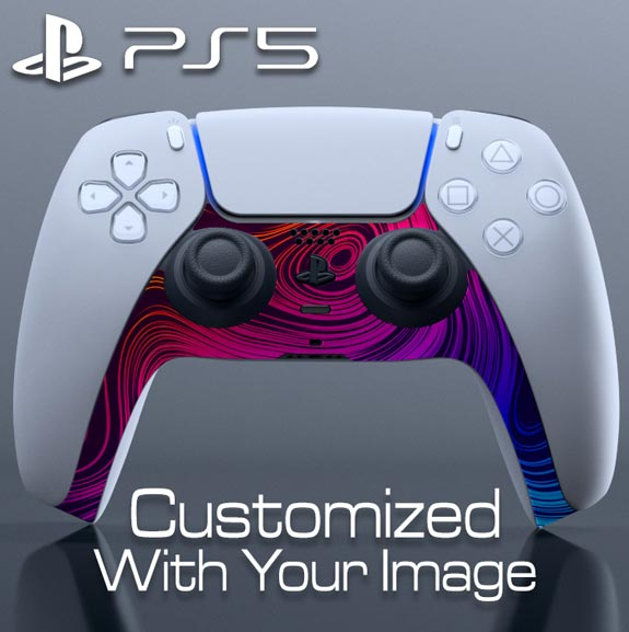 Custom DualSense Controller Skin – Lower