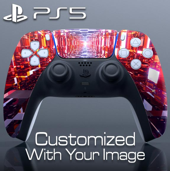 Custom DualSense Controller Skin – Upper