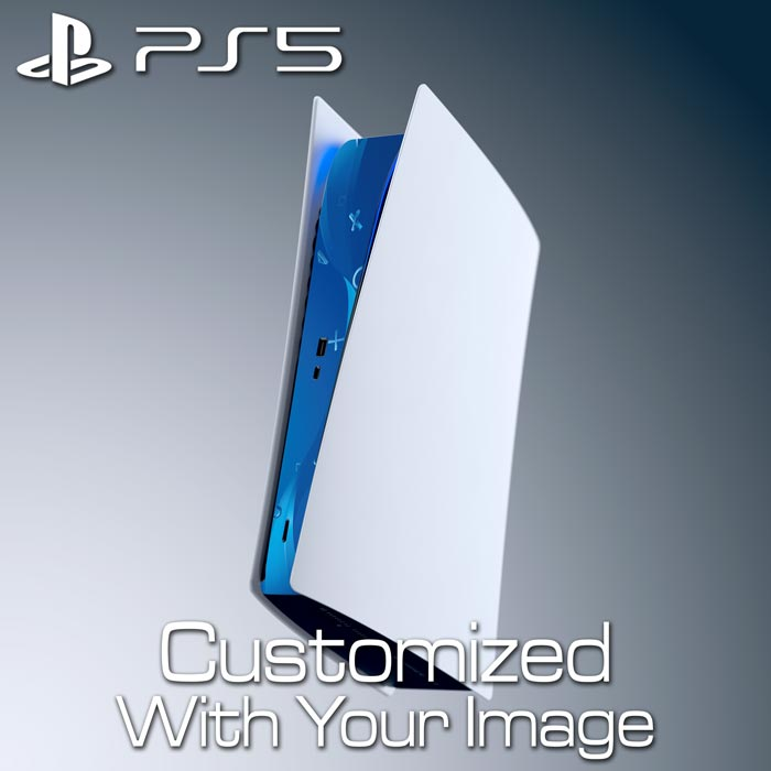 Custom PS5 Console Skin – Center Panel (Digital Edition)
