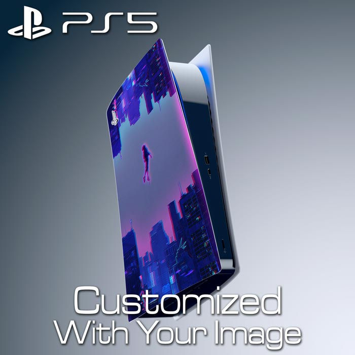 Custom PS5 Console Skin – Left Plate (Digital Edition)