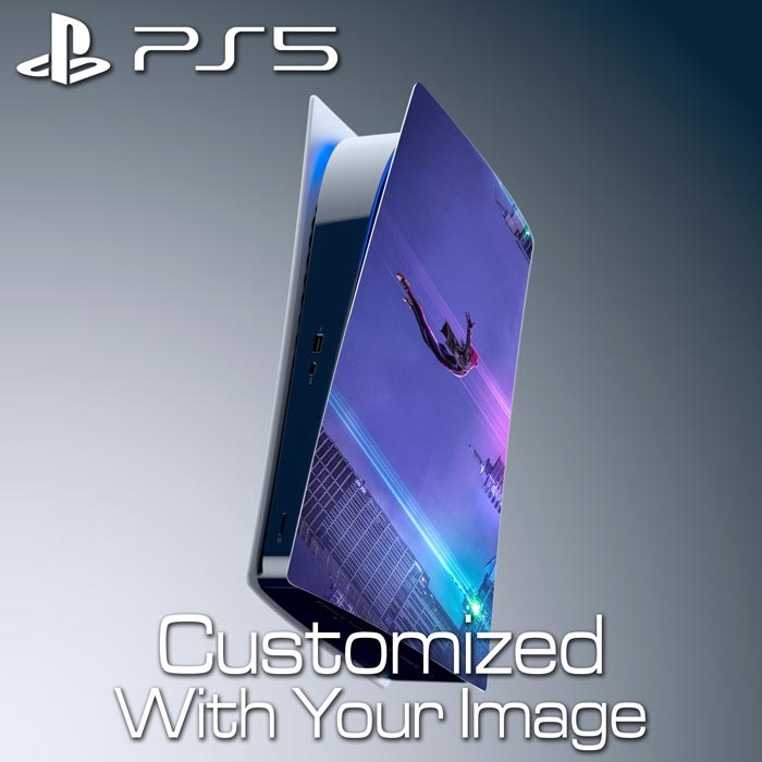Custom PS5 Console Skin – Right Plate (Digital Edition)