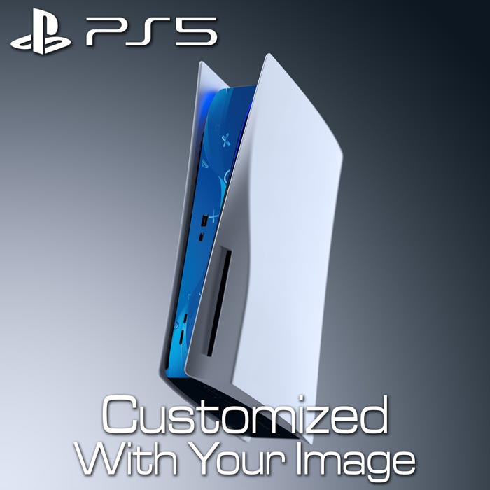 Custom PS5 Console Skin – Center Panel (Disc Edition)