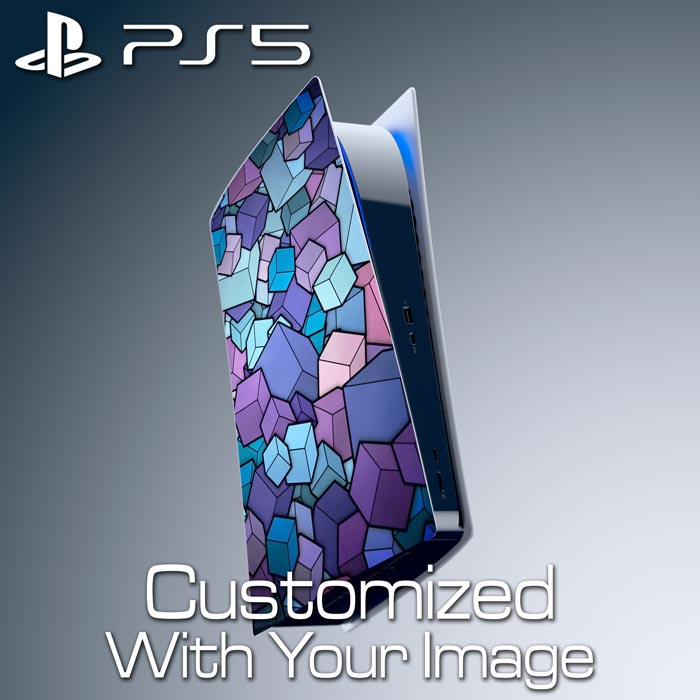 Custom PS5 Console Skin – Left Plate (Disc Edition)