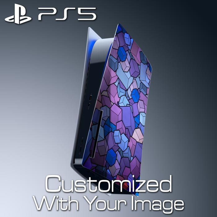 Custom PS5 Console Skin – Right Panel (Disc Edition)