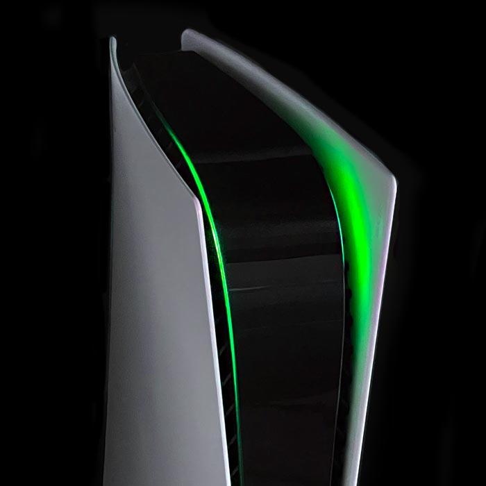 PS5 Power Light Decal – Green