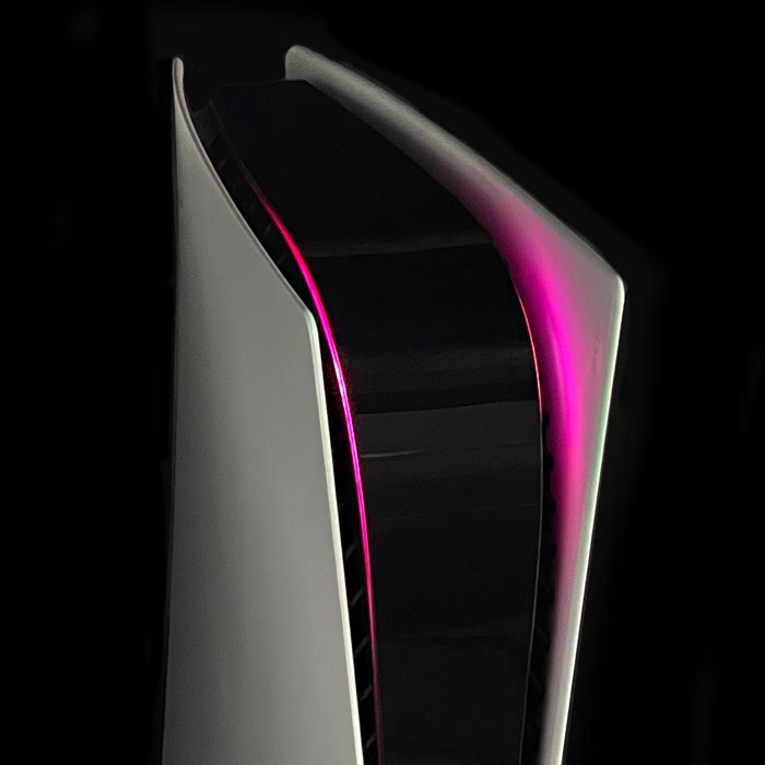 PS5 Power Light Decal – Pink
