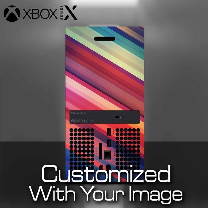 Xbox Series X Console Skin – Back