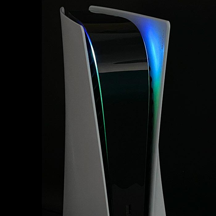 PS5 Power Light Decal – Blue-Green