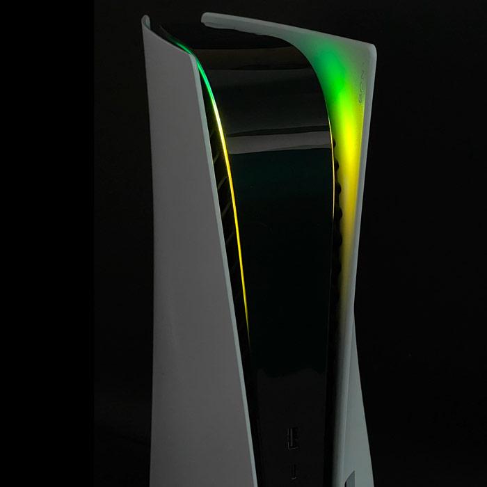 PS5 Power Light Decal – Green-Yellow