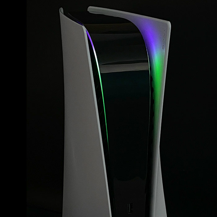 PS5 Power Light Decal – Purple-Green