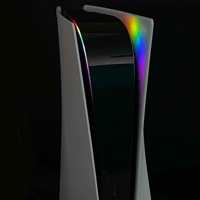 PS5 Power Light Decal – Spectrum