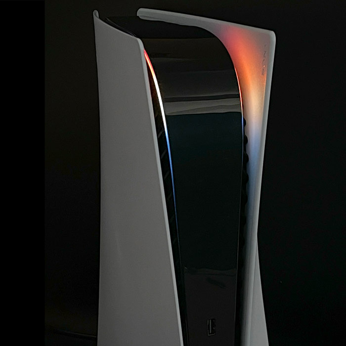 PS5 Power Light Decal – Sunset