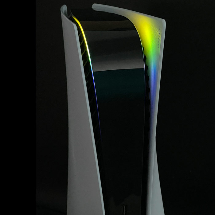 PS5 Power Light Decal – Yellow-Green-Blue