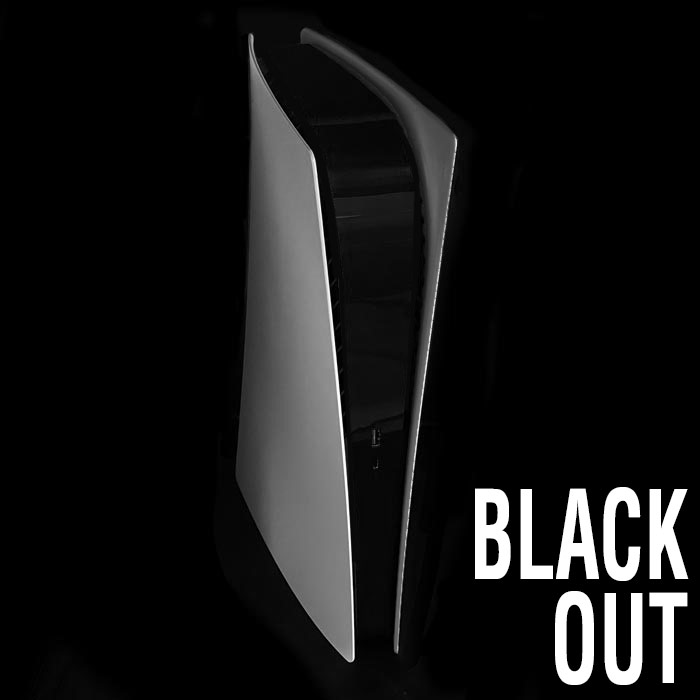 PS5 Power Light Decal – Black Out